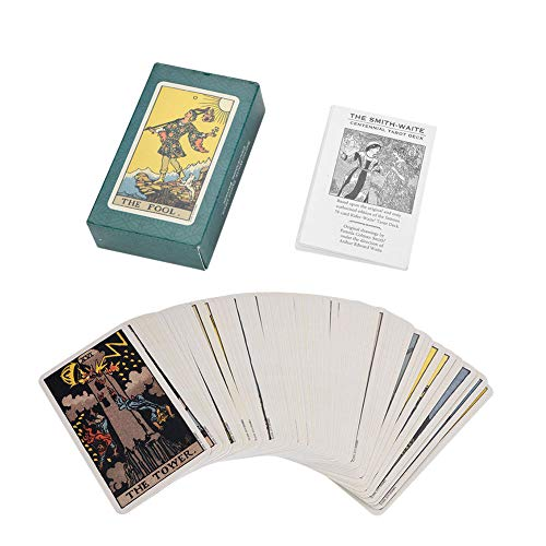 Tarot Deck - Delaman 78Pcs/Set Rider Waite Vintage Future que Dice la Tarjeta de Juego, con Caja Colorida