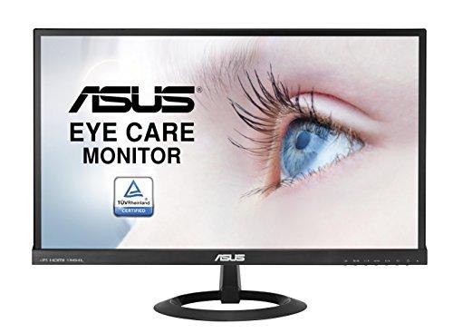 Asus 124487 58,4 cm (23 Zoll) Monitor (Full HD, VGA, HDMI/MHL, 5ms Reaktionszeit) schwarz