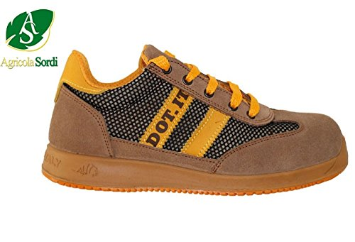 LEWER SCARPE ANTINFORTUNISTICHE DOT.IT BASSE CAT. S1P SCARPA DA LAVORO IDROREPELLENTE -