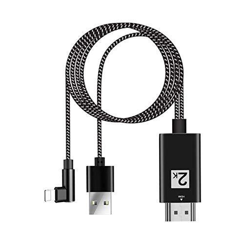 Terynbat HDMI Adapterkabel Kabel Für iPhone/IPad