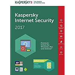 Kaspersky Lab Internet Security 2017, 1 user, 1 anno, Italiano
