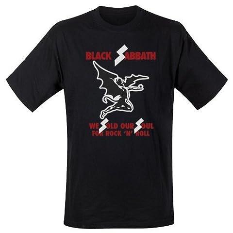 Black Sabbath Sold Our Soul Men's T-Shirt (XXL)