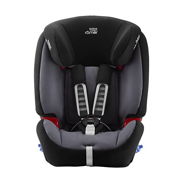 Britax Römer MULTI-TECH III Car Seat (9 Months-6 Years | 9-25 kg), Storm Grey Britax Römer This MULTI TECH III will come in a Blue Marble design cover which is made from a more premium fabric with extra detailing Enhanced side impact protection - the SICT feature offers High quality protection to your child in the event of a side collision Extended rearward facing - rearward facing car seats offer the best protection in the event of a frontal collision - the most frequent type of accident on the roads 2