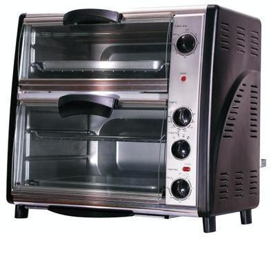 Syntrox germany back chef 42 litre multi double oven for Ariete bon cuisine 300