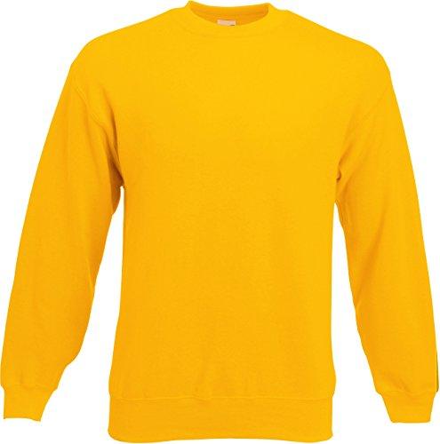 Fruit of the Loom - Sweatshirt 'Set-In' M,sunflower M,Sunflower