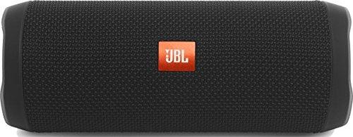 JBL FLIP 4 mobiler Bluetooth-Lautsprecher (ausgestatteter, wasserdichter, mit überraschend kraftvollem Sound) schwarz