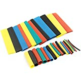 Rpi shop – 93 pcs Colours Assorted Polyolefin Heat Shrink Tube, Insulated Wire Cable Sleeving Wrap, Multicolour, 8 Different Cut Size without Box