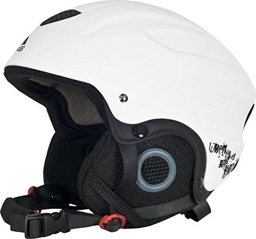 Trespass Skyhigh - Casco da sci, bianco, Bianco (bianco), M - Sci Caschi