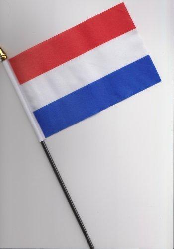 Pays-Bas Hollande à la main Drapeau 25 cm