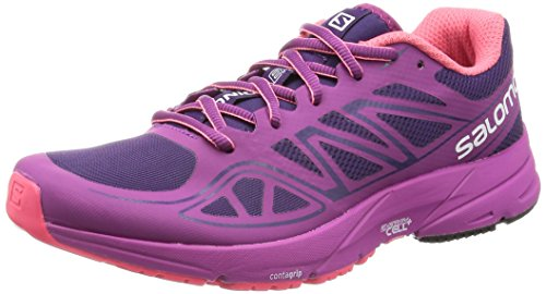 Salomon L38155800, Zapatillas de Trail Running para Mujer, Morado (Cosmic Purple / Azalee Pink / Madder Pi), 36 EU