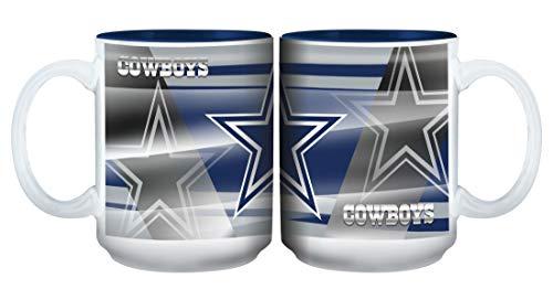 Memory Company NFL Dallas Cowboys Becher mit Shadow, 425 ml (Dallas Cowboys Keramik)