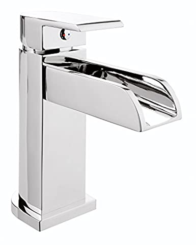 Aqua Single-Lever Mixer Tap for Sink Waterfall Chrome