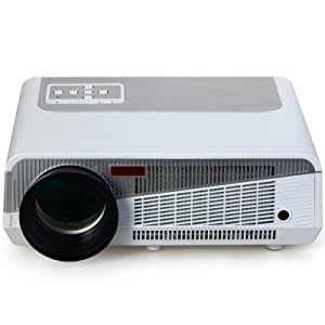 Maxbell LED-86+ LCD Multimedia Projector Android Wi-Fi Bluetooth Feature Home Cinema Theatre 1280 x 768 HD HDMI VGA USB AV Port 1080P