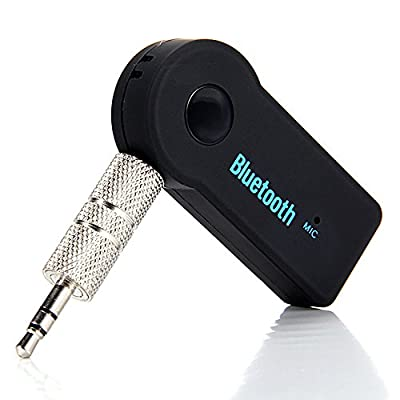 Digital Dukan Wireless Bluetooth Receiver Adapter 3.5MM AUX Audio Stereo Music Home Handsfree Car Kit