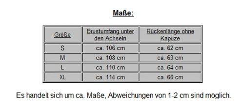 "Coole Karo ""703"" Herren Abnehmb. Kapuzen Weste S&LU Gr. S bis XL Hellblau"