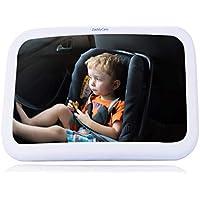 Autospiegel Baby groß - Rücksitzspiegel für Babys - Spiegel Auto Baby - mirror car