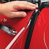 Strisce proteggi vernice, anti-graffio, per bordi delle portiere auto, trasparenti