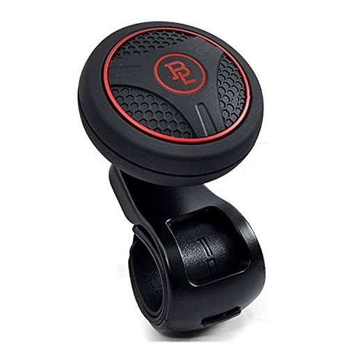 Preisvergleich Produktbild Bl Silicon Black Platinum Power Handle Car Steering Wheel Suicide Spinner Accessory Knob for Car Vehicle