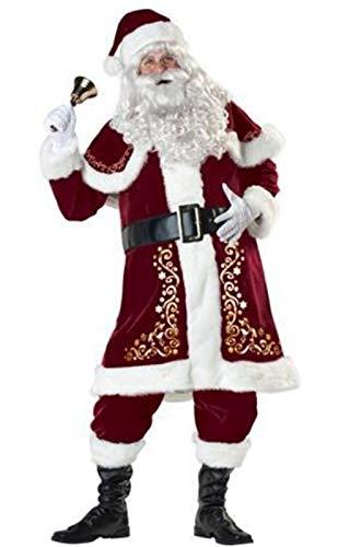 MAIMOMO Erotische Damen-Höschen Weihnachtskostüm Weihnachtszubehör Santa Claus Adult Weihnachtskleidung Männlich, Rot, XXXL
