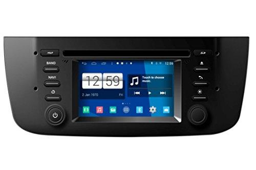 roverone quod Core Android Sistema Autoradio GPS de 4.3pulgadas para para Fiat...