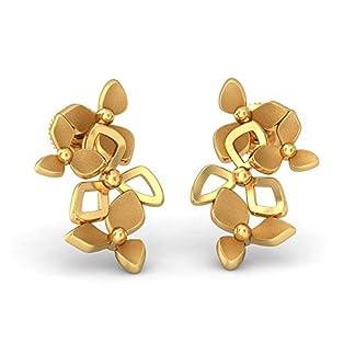 BlueStone 22k (916) Yellow Gold Freida Stud Earrings
