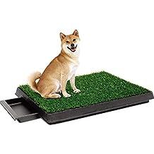 RKY Inodoro para perros - Bandeja para la basura para perros en interiores con Loo Higiene