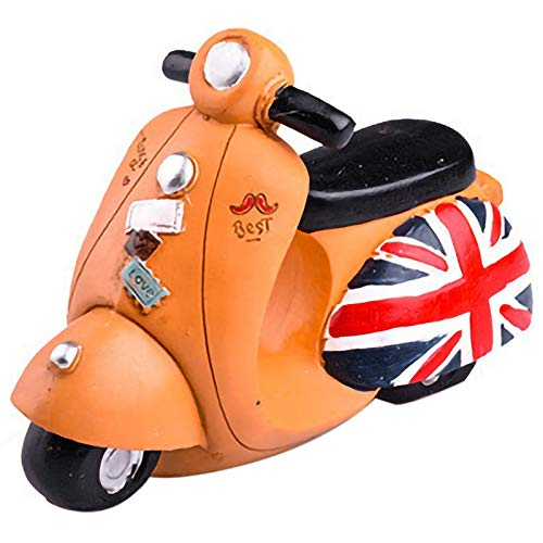 XZANTE Británico Retro Modelo Motocicleta Bancaria