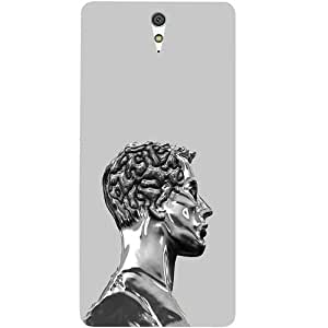 Casotec Metal Man Design Hard Back Case Cover for Sony Xperia C5 Ultra Dual