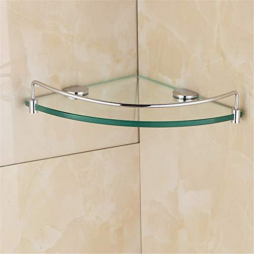 Badezimmer Edelstahl Ecke Dicke Gehärtetem Glas Regal Badezimmer Dreieck Glas Regale Duschraum Rack