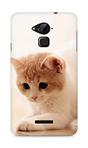 Amez designer printed 3d premium high quality back case cover for Coolpad Note 3 (Cute cat 1)
