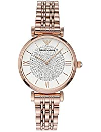 Emporio Armani Analog White Dial Women's Watch-AR11244