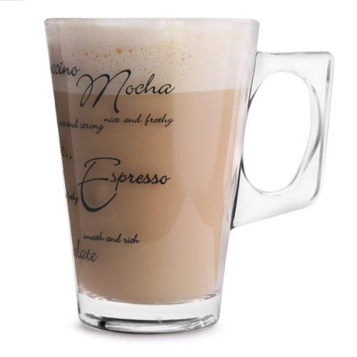 Ravenhead Script Latte Gläser, Set von 2
