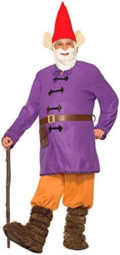 Deluxe Kostüm Erwachsene Gartenzwerg Zwerg Gnom WITZIG - (Erwachsene Kostüme Gartenzwerg)
