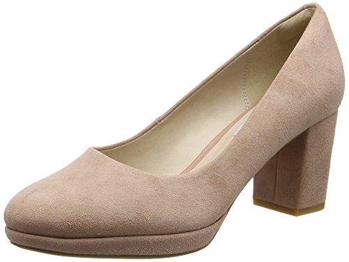 Clarks Kelda Hope, Escarpins Femme Rose (Dusty Pink)