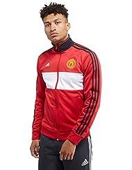 Adidas MUFC 3S TRK Veste Manchester United FC, homme