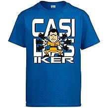 Diver Bebé Camiseta Iker Casillas ilustración el Mejor Portero de ... 2350db8e3e60e
