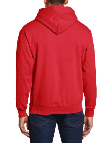 Fruit of the Loom Herren Sweatshirt 12208B Rot (40 rot)