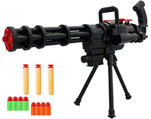 GYD Soft-Dart der Zerstörer Mini-Gun Softdart-Blaster Booster Mega Mini-Gun Softdart-Blaster (Blaster)