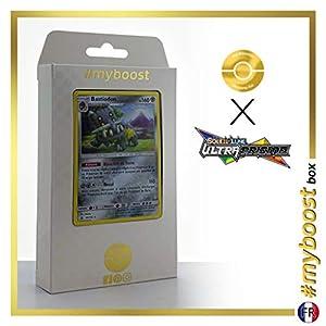 Bastiodon 85/156 Holo - #myboost X Soleil & Lune 5 Ultra-Prisme - Box de 10 Cartas Pokémon Francés