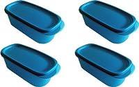 Tupperware Plastic Smart Saver Container Set, 500ml, 4 pieces