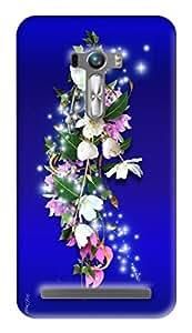 Expertdeal 3D Printed Hard Designer Asus Zenfone Selfie ZD551KL Mobile Back Cover Case Cover