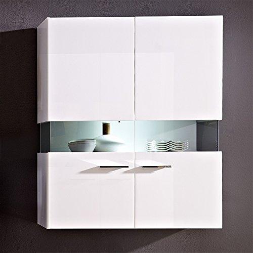 Wohnzimmer Set HATTAN258 weiß Hochglanz - 2
