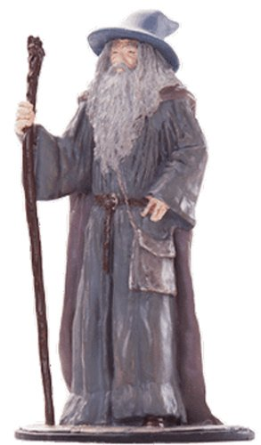 Lord of the Rings Señor de los Anillos Figurine Collection Nº 22 Gandalf The Grey 1