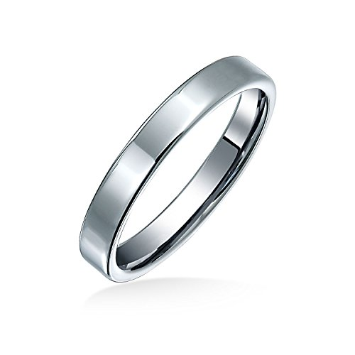 Bling Jewelry Cúpula Unisex Anillo de tungsteno de 8mm aMM42Qt
