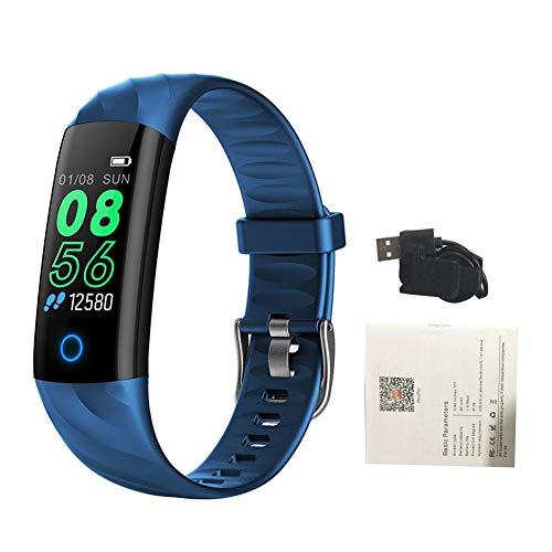 Là Vestmon Pulsera Actividad, S5 Pulsera Inteligente con Monitor de Ritmo Cardíaco Las 24 Horas/Impermeable IP68 / Monitor de Sueño para Mujer Hombre Reloj Fitness Podómetro, SMS para Android y iOS