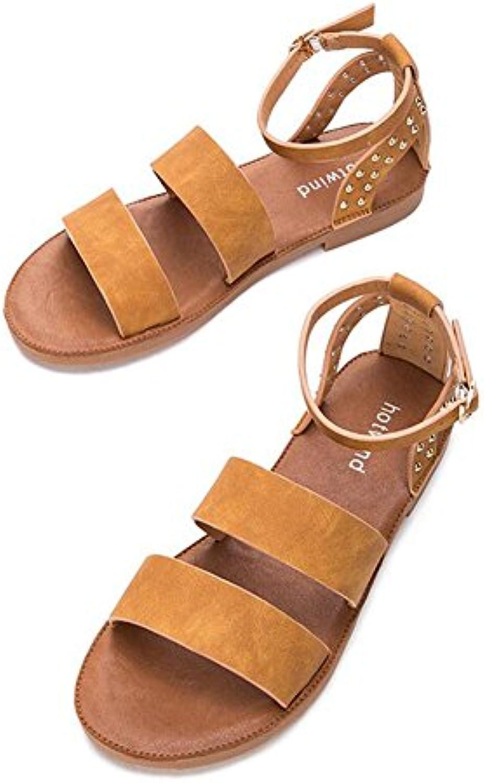 CJC Escarpins  s Femmes Mode Chaussures Pompe TalonB07D482W3XParent Tribunal Cheville Sangle Bloc Faible TalonB07D482W3XParent Pompe d281f8