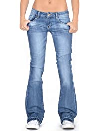 Amazon.co.uk: Flared - Jeans / Women: Clothing