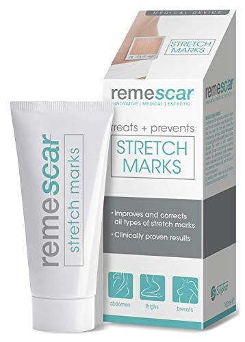 Remescar | trattamento smagliature | crema per le smagliature | crema clinicamente testata per la prevenzione e la rimozione delle smagliature da cosce, seno e altro