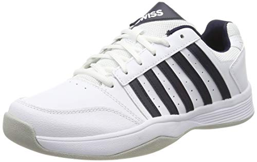 K-Swiss Performance Herren COURT SMASH CARPET-MAGNET/WHITE/HIRS-M Tennisschuhe, Weiß, 8 000070584), 42 - Asche Tennisschuhe