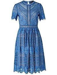 Kleid hallhuber blau